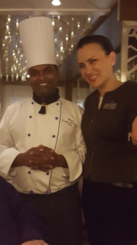 Anitsa and Pastry Chef from Luminae